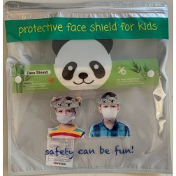 PPE (Personal Protection Equipment) Original Brand (OEM) Face Shield: Clear [KIDS FACESHIELD]