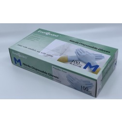 PPE (Personal Protection Equipment) Original Brand (OEM) Gloves: Blue [NGMED]